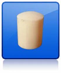 HDPE Plastic School Chart Rod Cap, Packaging Type: Bag