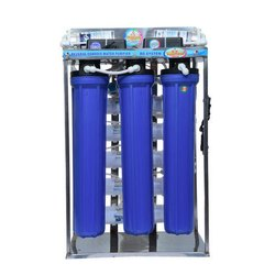 Automatic FRP and SS Commercial RO Water System, 0-200 (liter/hour)