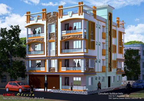 2bhk Flats in near Belgharia Station Walking Distance