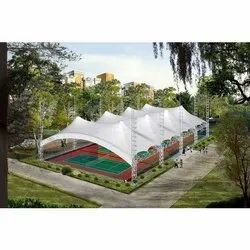 Sport Ground Tensile Membrane Structure