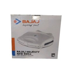 750 W White Bajaj Electric Toaster, for Home