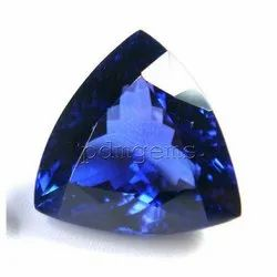Tanzanite Faceted Trillion Gemstone