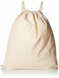 Organic Canvas Drawstring Bag