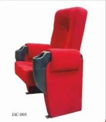 IAC-005 Red Push Back Auditorium Chair