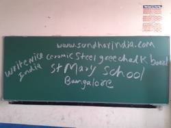 Ceramic Magnetic Green Chalk Board