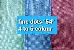 Fine Dots ''''54'''' Colour Fabric