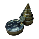 Brass Flat Cylindrical Weights