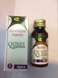 Quinex Suspension For Personal Quinine Sulphate Suspension, 60 Ml, Packaging Type: Box