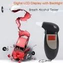 Digital Breath Analyzer Alcohol Tester Meter with Semi-Conductor