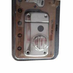 Godrej Brass Door Lock, Silver
