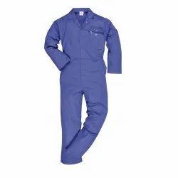 Uniforms & Work wear Men's Cobalt Blue Coverall-Boiler Suit