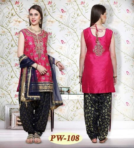 48487c87a3 Beautiful Designer Embroidered Patiala Suit For Diwali, Rs 6295 ...