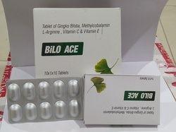 Ginkgo Biloba60mg Mecobalamin 750mcg Arginine10mg Vit A C E