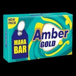 Amber Gold Detergent Cake