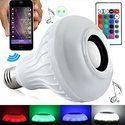 ROQ Wireless Bluetooth Remote Control Mini Smart LED Audio Speaker