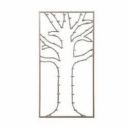Tree Design Candle Wall Panel
