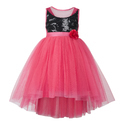 Girls Sleeveless Polyester And Cotton Dresses, Age: 3-4 Years