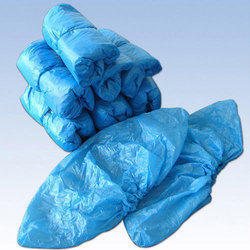 LDPE Blue Disposable Shoe Cover