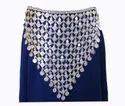 Coin Fringe Hip Waist BELT Skirt Pants Scarf Navratri Garba Dance