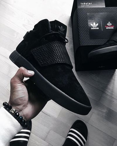 aae7027f64c Adidas Tubular Invader Strap Leather Mid-Top Shoes, Adidas Nmd ...