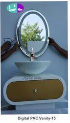 15 Digital PVC Vanity Set