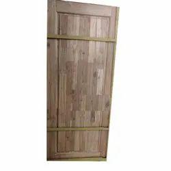 Finger Joint Teak Wood Door for Home