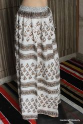 Hand Block Printed Long Skirt