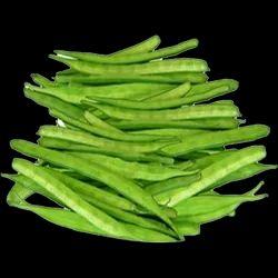 Green Cluster Beans, Carton, A Grade