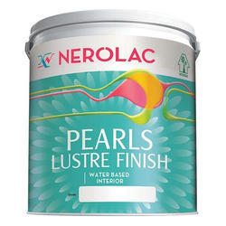 Nerolac Pearls Lustre Finish Water Based Interior Wall Paint, Packaging Type: Bucket