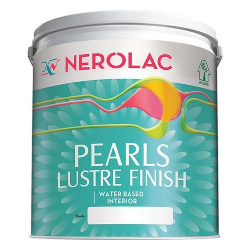 Nerolac Pearls Lustre Finish Water Based Interior Wall Paint