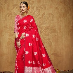 Banarasi Kanchipuram Fancy Silk Saree