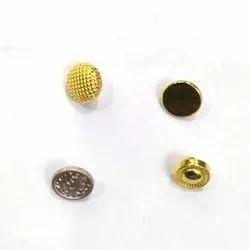 Zinc 20 Line Fancy Metal Button