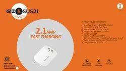 Travel Adapter Dual USB