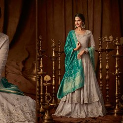 Georgette Suit With Heavy Dupatta