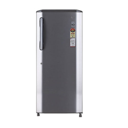 Stainless Steel 5 Star LG Single Door Refrigerator, 190-685 Liter , Compact