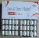 Calcium Carbonate 1250 Mg Eq. To Elemental Calcium 500 Mg & Vitamin D3 200 Iu Tablet