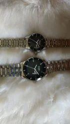 Quality Quartz Black Dial Wrist Watch