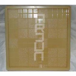 PVC Yellow Designer Tile Moulds