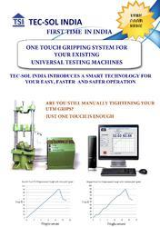 Anti-Slippage Grips For Universal Testing Machine