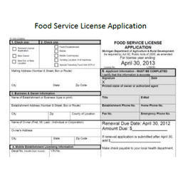 Food License Service