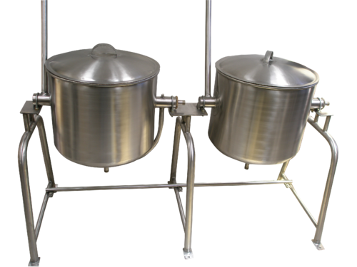 SS Single Jacketted cooking vessel