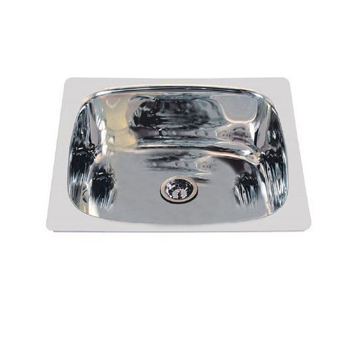 Silver Kitchen Sink, Bowl Size: 255*230mm, Packaging Type: Carton