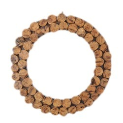Woodennxt Round Wall Decor Frame