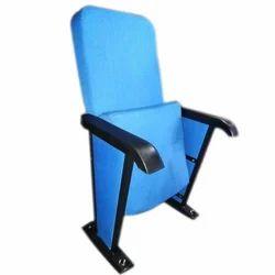 Blue Molded Auditorium Chair