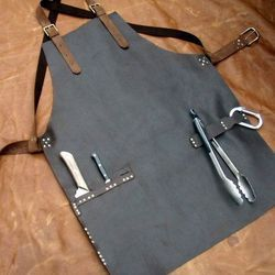 Pure Leather Cooking Apron