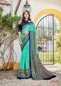 Linen Juth Designer Party Wear Saree
