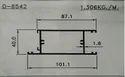 Aluminium Domal Section