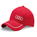 Red and White Promotional Cap
