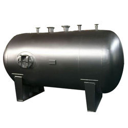 Mild Steel Horizontal Cylindrical Storage Tank