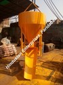 Side Discharge Arrangement Cone Type Concrete Bucket with Lever Operation